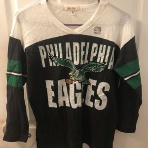 Junk Food Los Angeles Philadelphia eagles shirt